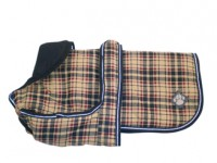 Checked Dog Coat